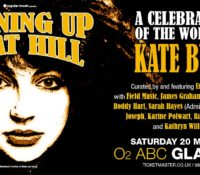Sat 20th May: Running Up That Hill (A Celebration of Kate Bush) Glasgow O2 ABC
